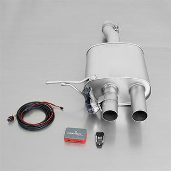 Remus Axle Back Exhaust for F56 MINI Cooper S