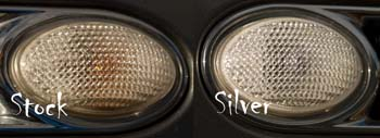 Silver Fender Scuttle Bulbs R60 R61