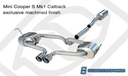 WMW Stratmosphere Catback Exhaust R53 Hardtop