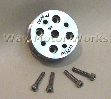 16% Supercharger Pulley - WMW