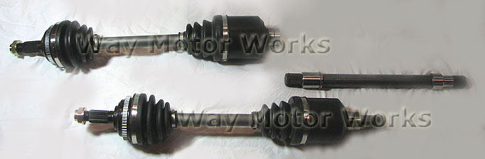 WMW Race Axles R52 R53 MCS