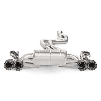 akrapovic bmw m2 f87 titanium exhaust system way motor works. Black Bedroom Furniture Sets. Home Design Ideas