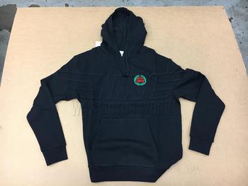 Black Classic Mini Logo Hoodie Sweatshirt
