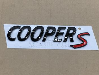 OEM Black Cooper S Badge