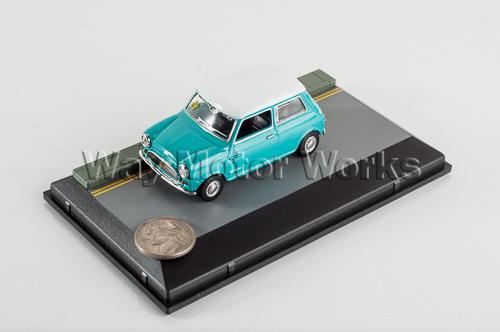 Blue Classic Mini Diecast Model
