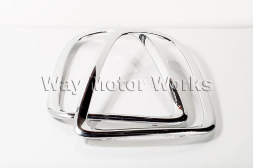 Used Chrome Tail Light Trim Rings R56 R57 R58 R59