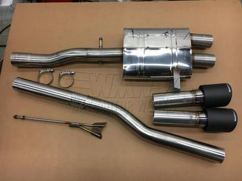 Quicksilver Exhaust for F55 MINI Cooper S