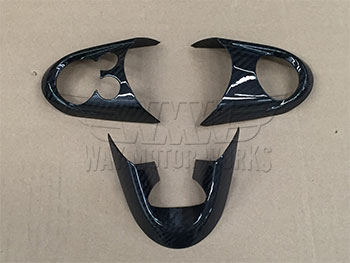 Carbon Fiber Steering Wheel Trim F54 F55 F56 F57