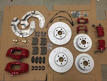 John Cooper Works Sport Brake Kit F56 Cooper S