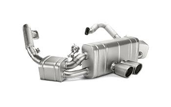 Akrapovic Porsche Cayman Boxster Exhaust System