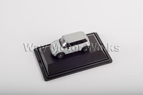 Silver R56 Hatchback Diecast Model