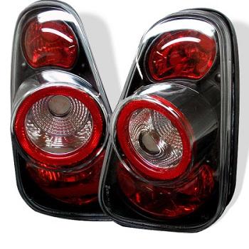 Spyder Black Tail Light Set R50 R53