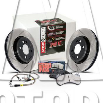 Stoptech Front and Rear Brake Package R55 R56 R57 R58 R59 Cooper S