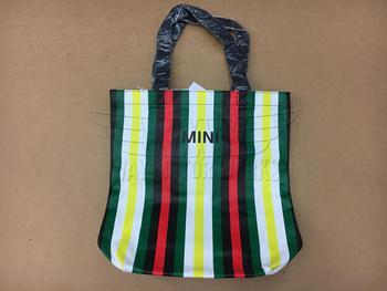 Striped MINI Shopping Bag