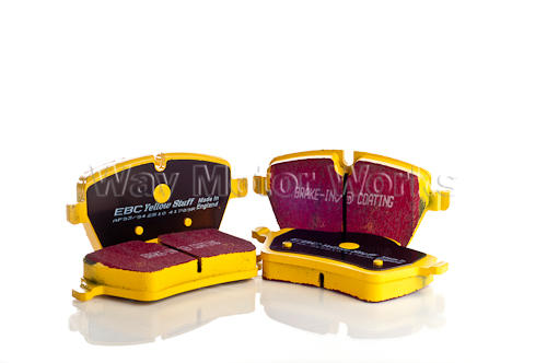 EBC Yellow Stuff R52 R53 JCW Brake Pads