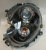 Black Bi-Xenon Headlight R55 R56 R57 R58 R59