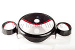Carbon Fiber Speedo Overlay Kit