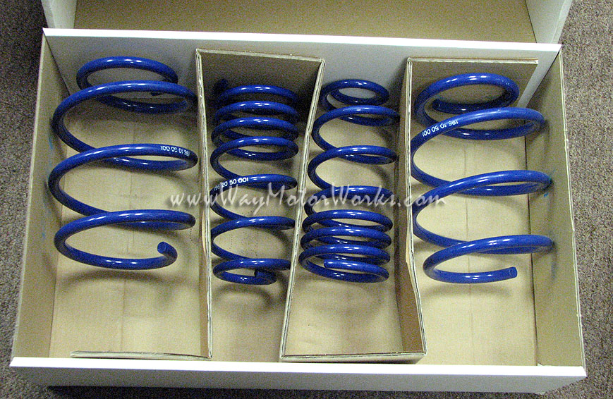 MINI Cooper Lowering Springs R50