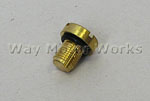 Brass Coolant Bleeder Screw