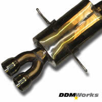 DDMWorks R56 R57 CooperS Race Exhaust