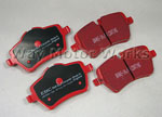 EBC Red Stuff R60 R61 Countryman Paceman S Brake Pads