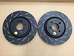 EBC John Cooper Works Slotted Brake Rotors R55 R56 R57 R58 R59