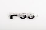 F55 Chrome Letter Badge
