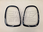Blackout Tail Light Trim Rings F56 MINI