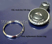 Key Fob Stainless Steel Ring