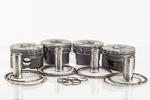 Mahle Piston and Rings Set N14 Engine
