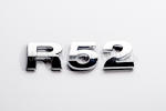 R52 Chrome Letter Badge