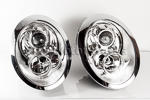 Chrome Headlight Set R50 R52 R53
