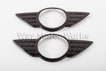 Carbon Fiber Emblem Covers R56