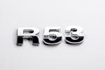 R53 Chrome Letter Badge
