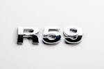 R59 Chrome Letter Badge