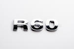 R60 Chrome Letter Badge