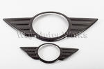 Carbon Fiber Emblem Covers R60
