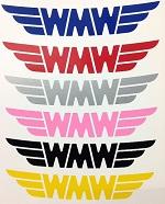 WMW Vinyl Decal