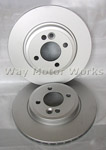 WMW Brake Rotors R55 R56 R57 R58 R59 Cooper NON S 