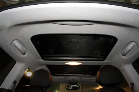 Zippee Shade for Sunroof R55