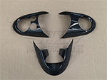 Carbon Fiber JCW Steering Wheel Trim F54 F55 F56 F57