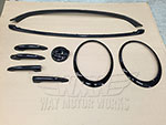 WMW Complete Black Trim Kit R55 Clubman