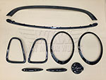 WMW Complete Black Trim Kit R56 R57 R58 R59