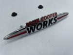 John Cooper Works Front Badge R55 R56 R57 R58 R59