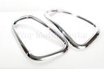 Tail Light Chrome Trim Rings