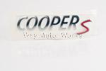 OEM Cooper S Badge