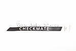 OEM Checkmate Sticker