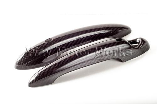 Carbon Fiber Door Handle Covers R55 R56 R57 R58 R59