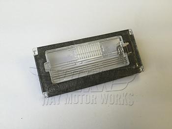 License Plate Light Lens R50 R52 R53