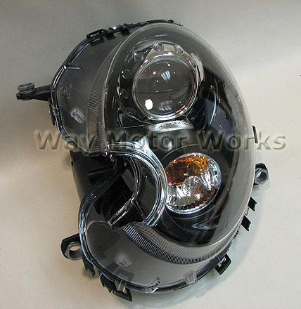 Low 501 H4 Xenon Headlight Bulbs For Mini One Cooper R57 2008-2016 Side